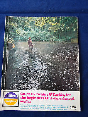 Vintage Milbro Fishing Catalogue For 1968 Inc. Mitchell + Daiwa Reel Ads.