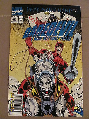 Daredevil #308 Marvel Comics NETFLIX 9.2 Near Mint- Newsstand Edition