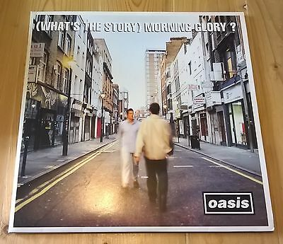 OASIS ~ Whats The Story Morning Glory ~ CREATION ORIG.  CRE LP 189 UK 1ST 2x LP