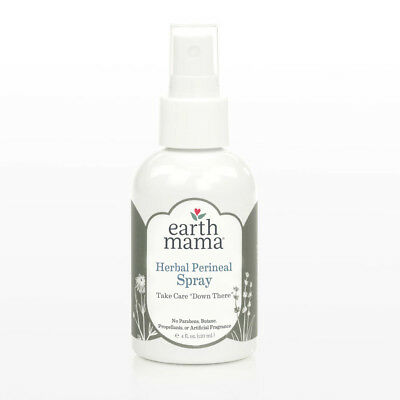 EARTH MAMA New Mama Bottom Spray Cooling Soothing Perineal Mist 4 fl. oz. 120 ml