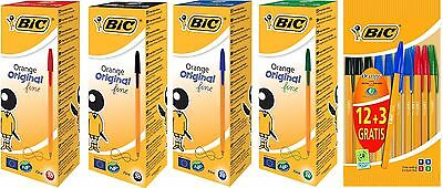 BIC Orange Original Fine Ballpoint Pen