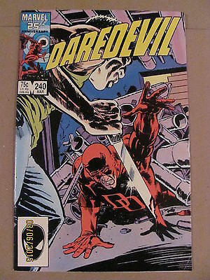 Daredevil #240 Marvel Comics NETFLIX