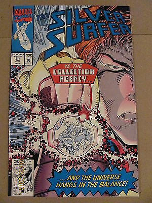 Silver Surfer #61 Marvel Comics 1987 Series 9.2 Near Mint-