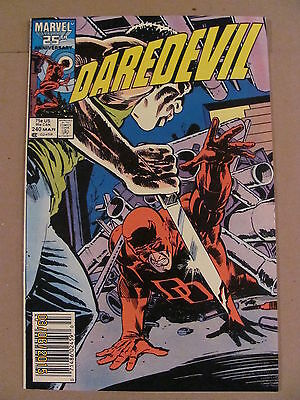 Daredevil #240 Marvel Comics NETFLIX Newsstand Edition 9.2 Near Mint-