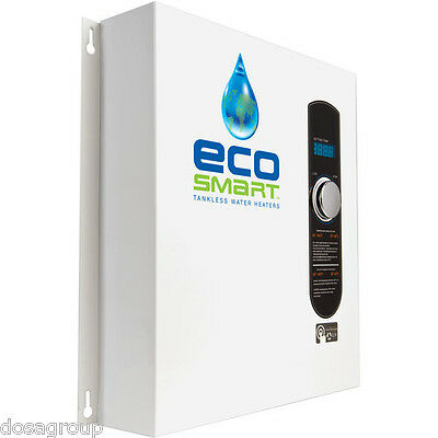 Ecosmart ECO27 Electric Tankless Water Heater 27KW 240 Volts Self Modulating NIB