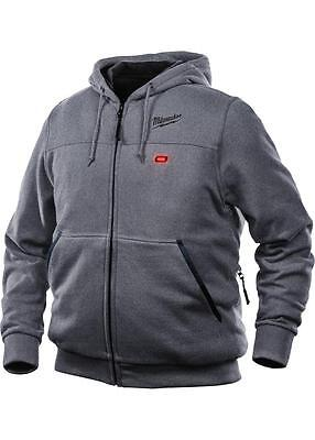 Milwaukee 301G-212X M12™ Gray Heated Hoodie Kit, 2X-Large