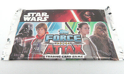 Sealed Collectable Topps Star Wars Force Attax Holographic Foil Trading Cards