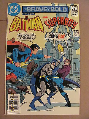 Brave and the Bold #192 DC Batman Superboy Canadian Newsstand Price Variant