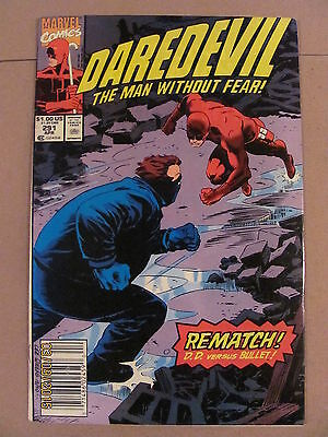 Daredevil #291 Marvel Comics NETFLIX Newsstand Edition