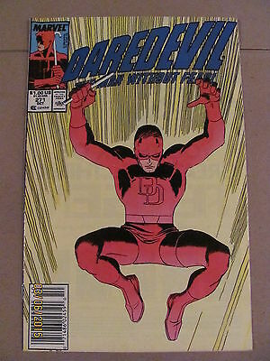 Daredevil #271 Marvel Comics NETFLIX Newsstand Edition