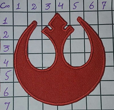 78600290 Star Wars REBEL ALLIANCE Red Squardron RICAMATO TOPPA Embroidered Patch