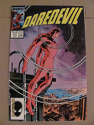 Daredevil #241 Marvel Comics NETFLIX Mike Zeck cover Todd McFarlane art 9.2 NM-