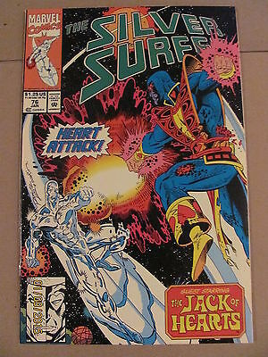 Silver Surfer #76 Marvel Comics 1987 Series 9.2 Near Mint