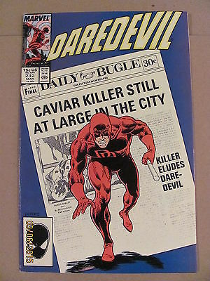 Daredevil #242 Marvel Comics NETFLIX
