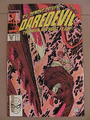 Daredevil #263 Marvel Comics NETFLIX 9.2 Near Mint- Inferno crossover