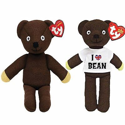 Official Mr Bean Twin Beanie Bear Set by Ty (Limited Edition)