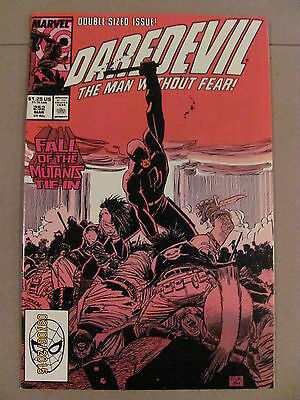 Daredevil #252 Marvel Comics NETFLIX 9.2 Near Mint- Fall of the Mutants