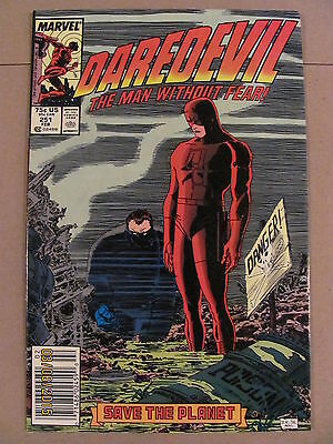 Daredevil #251 Marvel Comics NETFLIX 9.2 Near Mint- Newsstand Edition
