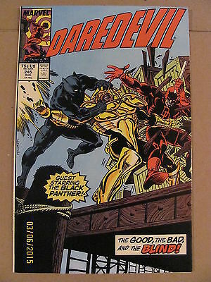 Daredevil #245 Marvel Comics NETFLIX 9.2 Near Mint- Black Panther app