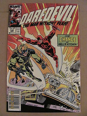Daredevil #246 Marvel Comics NETFLIX 9.2 Near Mint- Newsstand Edition