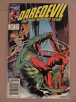 Daredevil #247 Marvel Comics NETFLIX Newsstand Edition