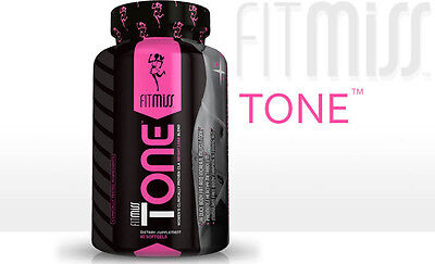 FitMiss TONE 60 Caps Fit Miss Womens Fat Burner muscle tyte pharm CLA leanmode