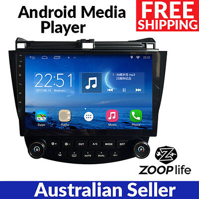 10.2 Inch Android 6.0 GPS Navigation 2 DIN for Honda Accord 7 2003-2007