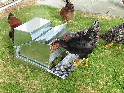 Chicken/Poultry/Chook -  Automatic Treadle feeder Standard