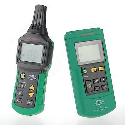 MASTECH Wire Tracker Cable Locator Detector Tester Meter 12~400V AC/DC Backlight