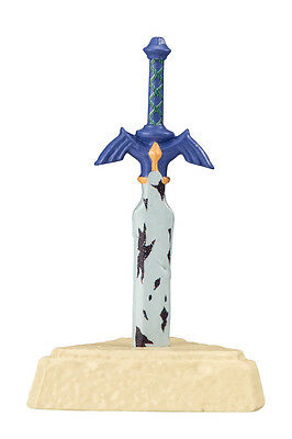 The Legend of Zelda Mascot Swing PVC Keychain Figure~Master Sword Ornament @9620