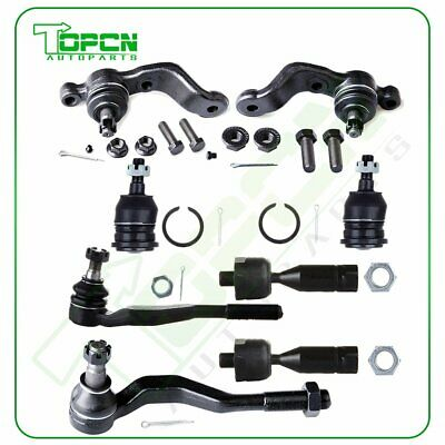 8PCS Suspension Kit Front Ball Joints Tie Rod Ends For 1998-2004 Toyota Tacoma