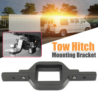 Offroad Truck SUV Dual LED Backup Reverse Work Light Tow Hitch Mounting Bracket