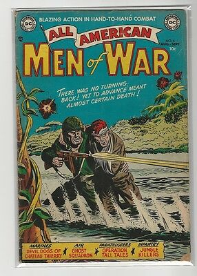 All-American Men Of War # 6
