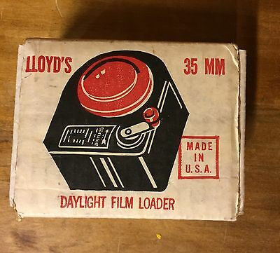 Lloyd's 35mm Daylight Film Loader w/ box Vintage Photography Camera Developing
