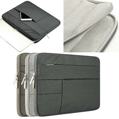 """Laptop Sleeve Bag Case Pouch For 11.6"""" 12"""" 13.3"""" 15.4"""" Macbook Air/Pro/Retina"""