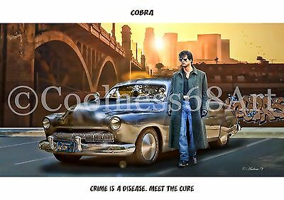 A4 size Cobra Original Art Print