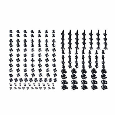 140pcs/set Tactile Tact Push Button Switch High Precision Button Switch OK