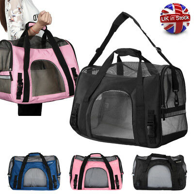 Puppy Pet Dog Cat Portable Travel Carry Carrier Tote Cage Bag Crates Box Holder