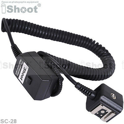 Flash SYNC I-TTL Off-Camera Shoe Cord Cable/corde pour Nikon SB910/SB900/SB400