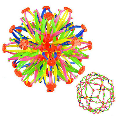 Expanding Sphere  Transforming Rainbow Color Expandable Colorful Ball Toy