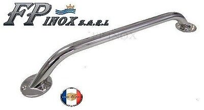 Main courante 855mm Tube de 20mm inox 316