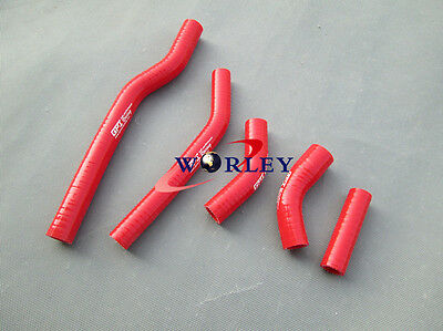 For YAMAHA YZF250 YZ250F 2006 06/WR250F 07-09 2007 08 RED Silicone Radiator Hose