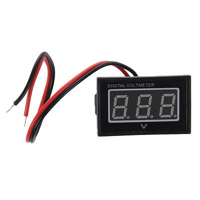 AF Waterproof 2.5-30V digital voltmeter voltage indicator Monitor Battery Meter
