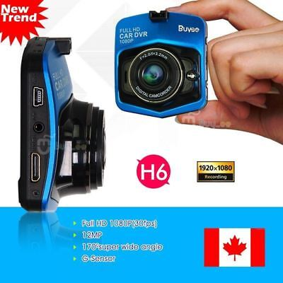 "NEW Mini 1080P HD 2.4"" LCD Car Dash Camera Video DVR Cam Recorder 170 wide angle"