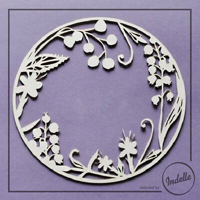 Round Chipboard Frame Card Making Embellishment Papercraft Shape Scrapbooking
