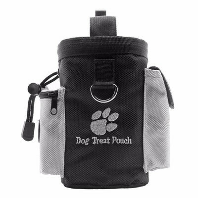 Dog Pet Puppy Obedience Agility Bait Training Snack Food Dog Treat Pouch Bag