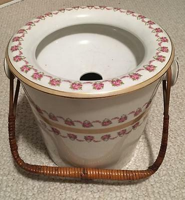 Chamber Pot, Bridgwood, Made In England, Early 1900's, Intact and Very Pretty