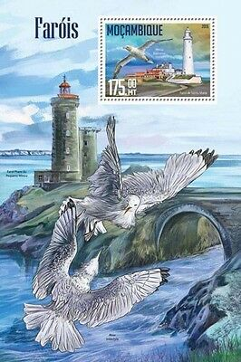 Z08 IMPERFORATED MOZ16208b MOZAMBIQUE 2016 Lighthouses MNH