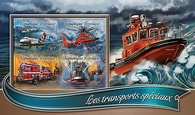 Z08 IMPERFORATED TG16320a TOGO 2016 Special transport MNH