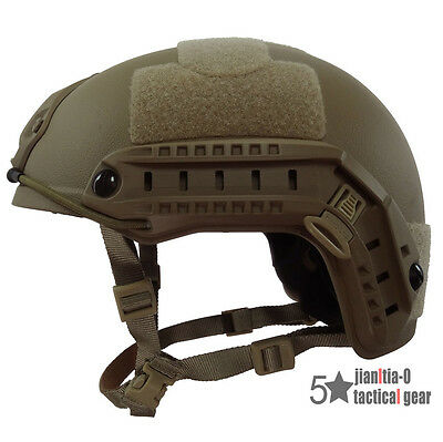 Tan Standard Action Version MH US Seals Fast Helmet Size Adjustable Repro